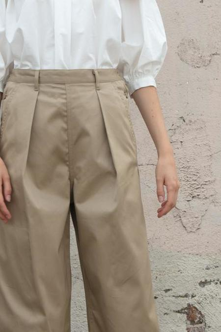Tomorrowland Wide Pants - Beige