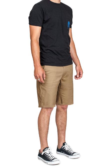 Brixton Carter Shorts - Sand
