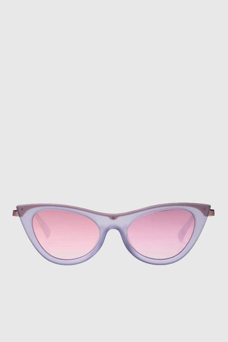 Le Specs Enchantress sunglasses - Blue Quartz / Rose Grad Revo Mirror