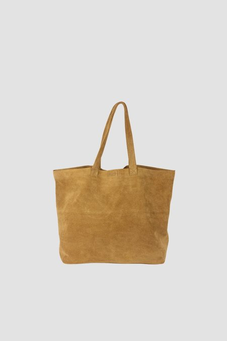 Coterie Suede Tote Bag - Spice