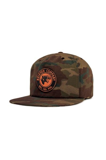 Brixton Legion HP Snapback Cap - Camo