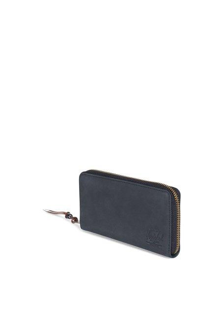Herschel Supply Co Thomas Wallet - Black Leather