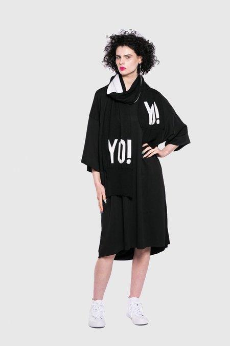 Maaike Yo! Scarf - Black