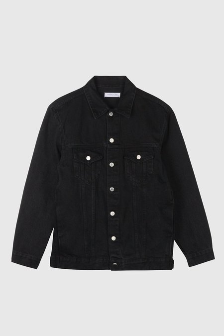 Assembly Oversized Denim Jacket - Worn Black
