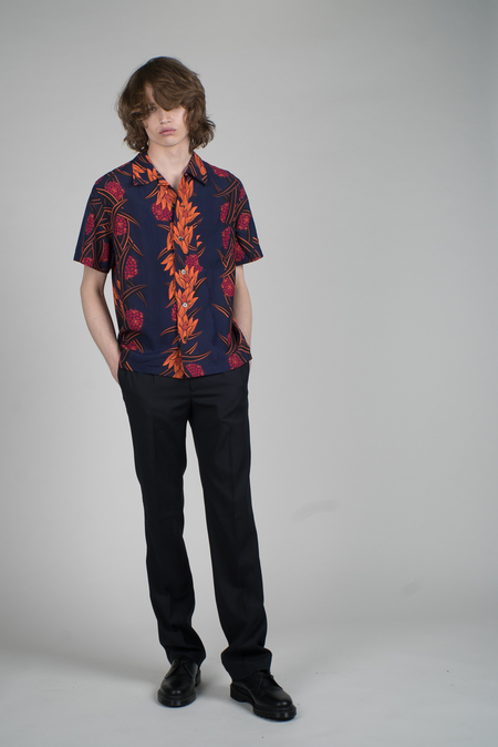 You As Miles Viscose Shirt - Midnight