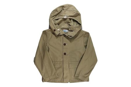 Milworks Hooded Parka - Khaki