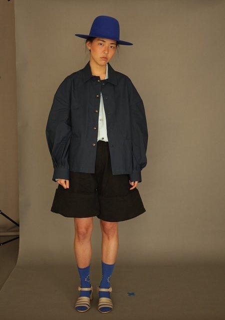 Unisex DANSHAN Padded Sculpture Shorts - Black