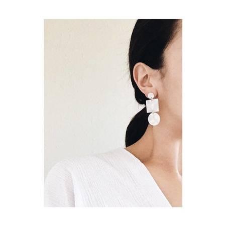 Sundara Mar Totem Earrings - Ivory