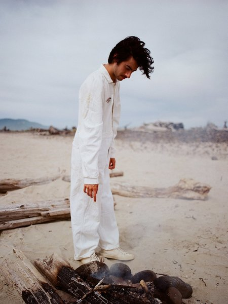 Shop Boswell VINTAGE COVERALLS - White