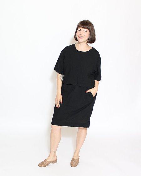 Uzi NYC Factory Dress - Black