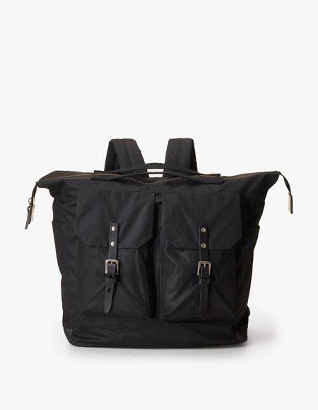 Ally Capellino Frank Waxy Backpack - Black