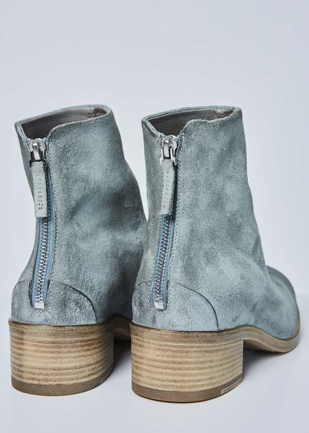 Marsèll Women's Listo Back Zip Boot - sea foam suede