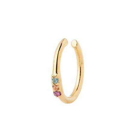 Maria Black Edison Ear Cuff - High Polished Gold