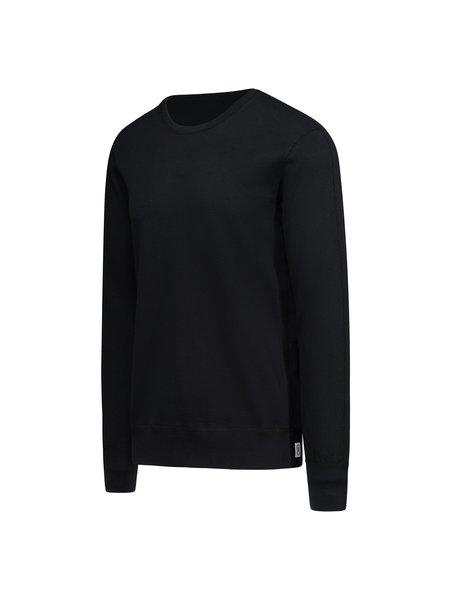 Reigning Champ Knit Lightweight Terry Crewneck Sweatshirt - Black