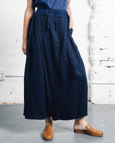 Kapital Linen Tombom Pants - Navy