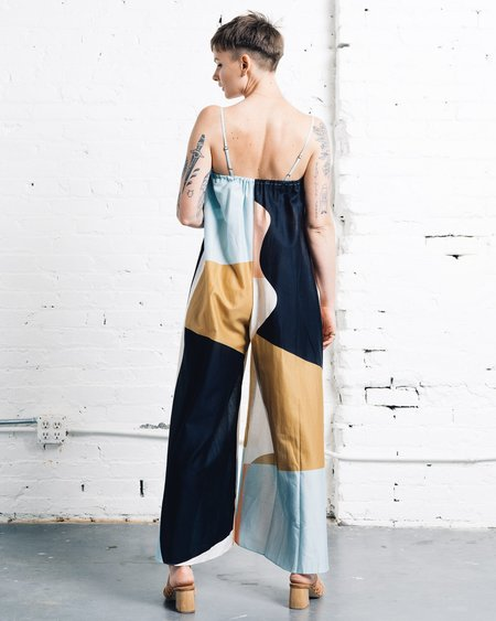 Mara Hoffman Asta Jumpsuit - Neapolitan print