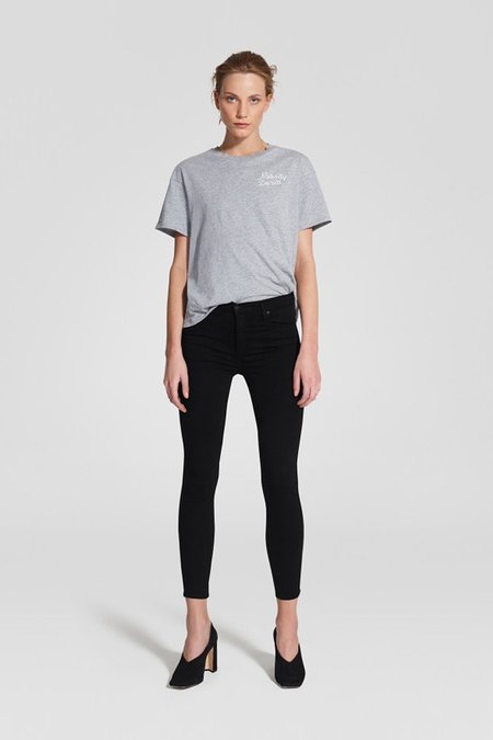 NOBODY DENIM Cult Skinny Ankle - Power Black