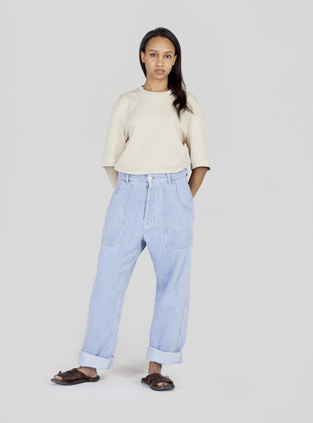 UNISEX I AND ME WORKER PANT - WORKER BLUE