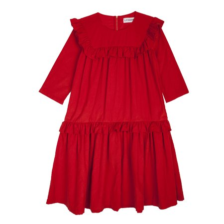 LF Markey Carter Dress - Vermillion