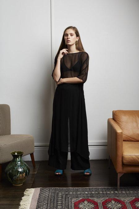 Mina Yena Dress - BLACK
