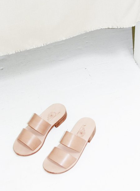 Rachel Sees Snail Shoes 2-strap Sandal