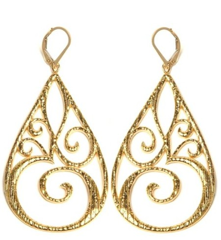 Peacock Boutique Large Plh Earrings
