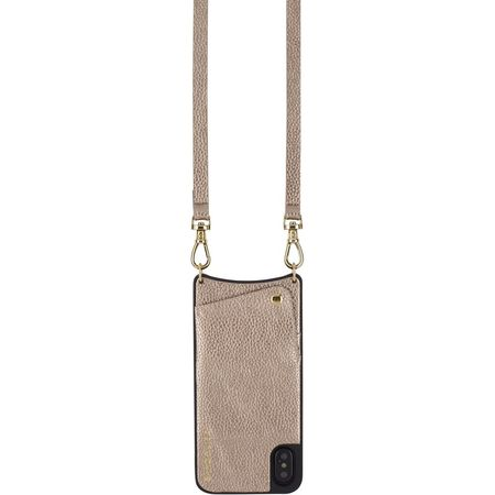 Bandolier Emma iPhone Case - Metallic Light Bronze