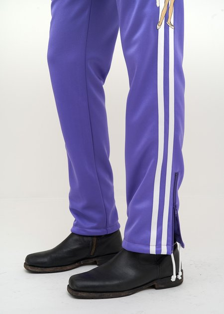 Doublet Chaos Embroidery Track Pants - purple