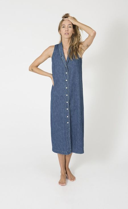 Ilana Kohn EIBEL MAXI DRESS - DENIM