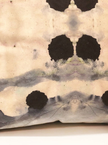 ESKAYEL Dynasty Print Pillow Case in Slate
