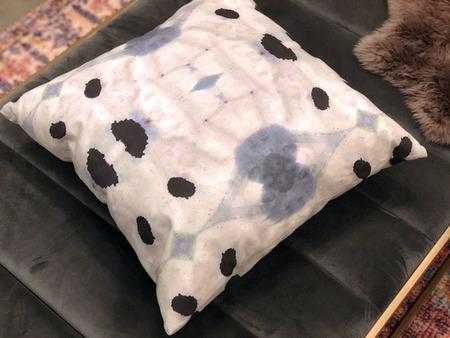 Eskayel Galileo Glass Print Pillow Case in Shale