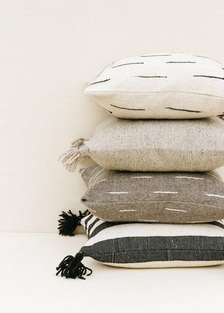 Territory Puro Wool Pillow - Grey