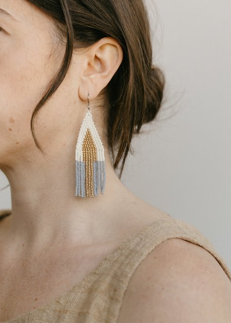 Of June Sunbeam Earring - Grey