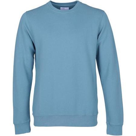Unisex Colorful Standard Classic Organic Crew Sweatshirt - Stone blue