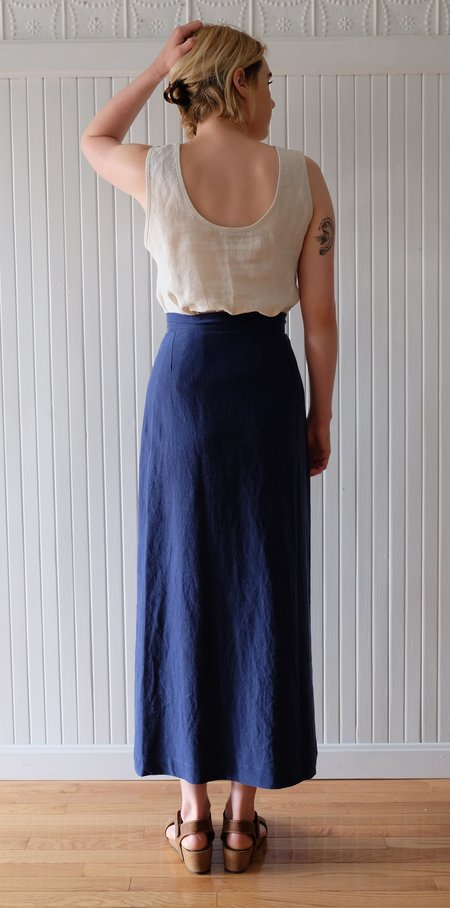 Ilana Kohn Cielo Skirt - Dark Blue