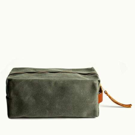 Hudson Made Cotton Twill Dopp Kits
