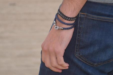 Sailormade Player Rope Bracelet - Charcoal