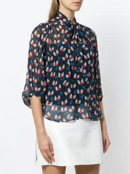 CHINTI AND PARKER Juliette Blouse - Navy