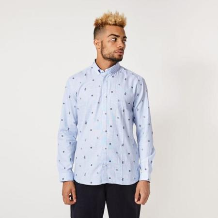 Suit Rasmus Cactus Shirt - Light Blue