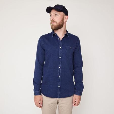 Suit Roberto Shirt - Indigo Blue
