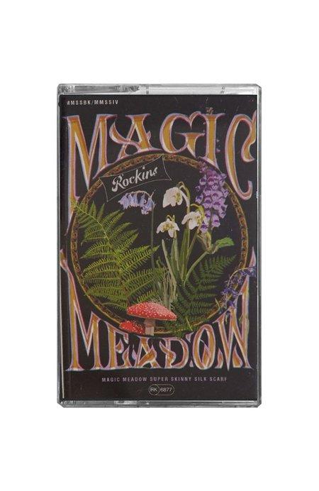 Rockins Magic Meadow Super Skinny Scarf - BLACK