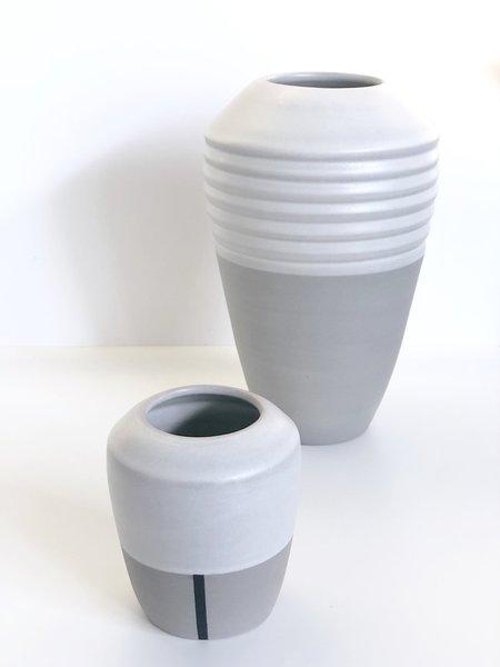Wolf Ceramics Vases - Gray
