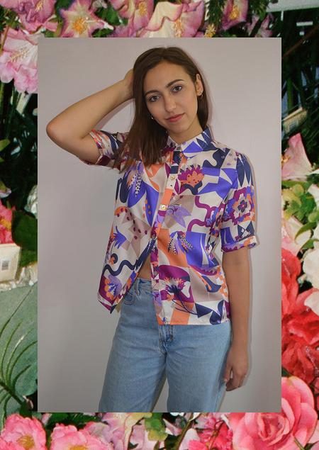 Apalma Grid Button-up Shirt