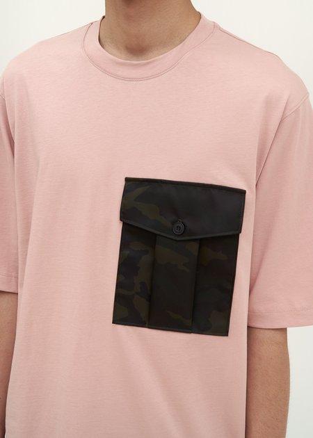 Helmut Lang Camo Pocket T-Shirt - rose