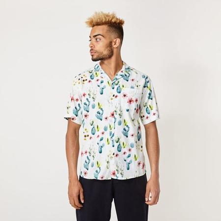 suit denmark ryder s/s shirt - floral