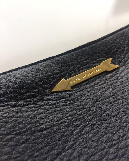 Kate of Arcadia Make Up Purse Small - Navy/Gold