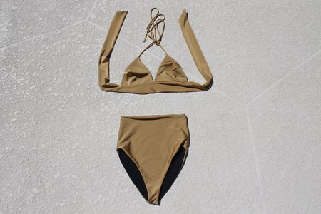 Makota Swim Lora Bottom - Gold