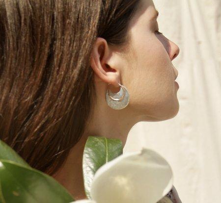 Sun & Selene Aella Disc Earring