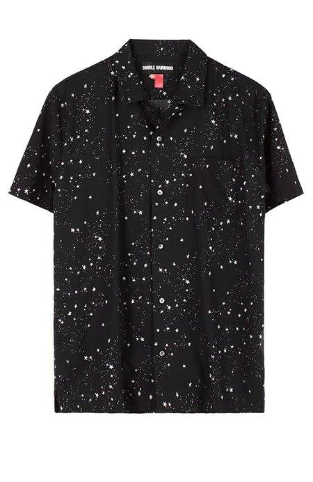 Double Rainbouu Space Cowboy Hawaiian Shirt