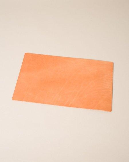 Wood&Faulk Leather Desk Pad - Russet